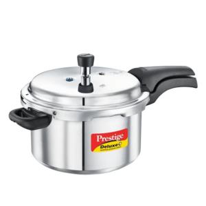 Prestige Deluxe Plus Aluminium Pressure Cooker 5 Litre